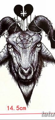 Фото тату Сатана от 31.07.2018 №137 – tattoo of Satan – tatufoto.com