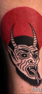 Фото тату Сатана от 31.07.2018 №140 – tattoo of Satan – tatufoto.com