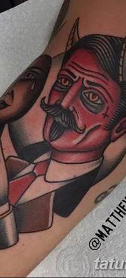 Фото тату Сатана от 31.07.2018 №142 – tattoo of Satan – tatufoto.com