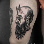 Фото тату Сатана от 31.07.2018 №143 - tattoo of Satan - tatufoto.com
