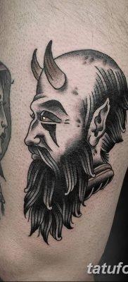 Фото тату Сатана от 31.07.2018 №143 – tattoo of Satan – tatufoto.com
