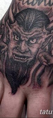 Фото тату Сатана от 31.07.2018 №144 – tattoo of Satan – tatufoto.com