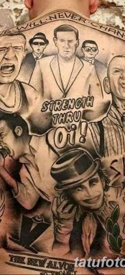 Фото тату Скинхедов от 31.07.2018 №023 – tattoo of skinheads – tatufoto.com