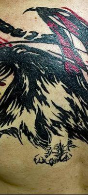Фото тату мантикора от 31.07.2018 №034 – tattoo manticore – tatufoto.com