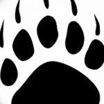 Эскизы тату кошачьи следы от 31.07.2018 №015 - Sketches tattoo cat tracks - tatufoto.com