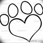 Эскизы тату кошачьи следы от 31.07.2018 №040 - Sketches tattoo cat tracks - tatufoto.com