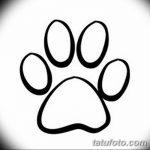 Эскизы тату кошачьи следы от 31.07.2018 №053 - Sketches tattoo cat tracks - tatufoto.com