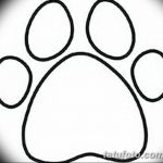 Эскизы тату кошачьи следы от 31.07.2018 №065 - Sketches tattoo cat tracks - tatufoto.com
