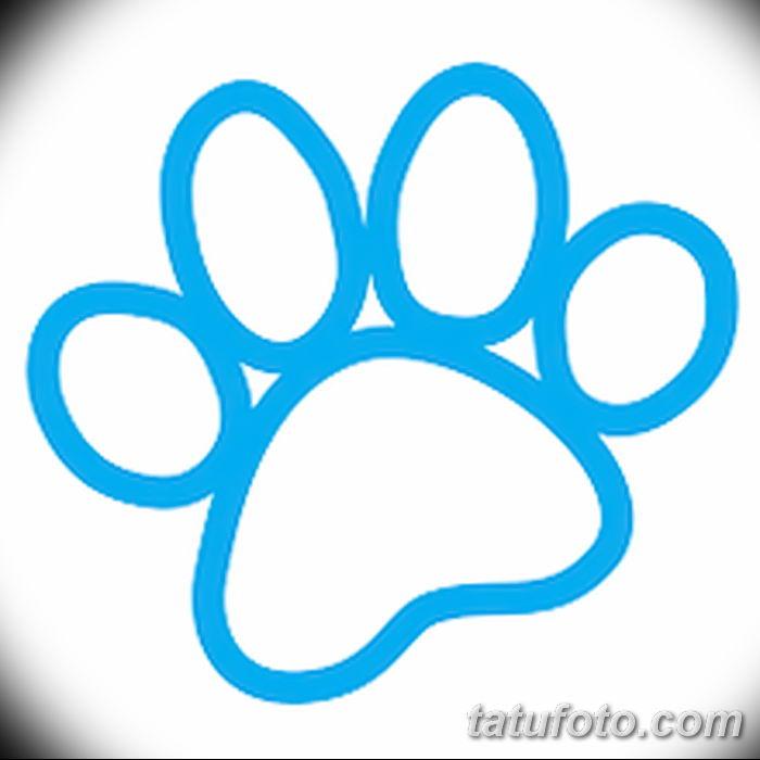 Эскизы тату кошачьи следы от 31.07.2018 №077 - Sketches tattoo cat tracks - tatufoto.com