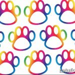 Эскизы тату кошачьи следы от 31.07.2018 №079 - Sketches tattoo cat tracks - tatufoto.com