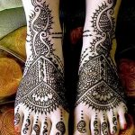 фото Мехенди на лодыжке от 13.07.2018 №109 - Mehendi on the ankle - tatufoto.com