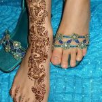 фото Мехенди на лодыжке от 13.07.2018 №143 - Mehendi on the ankle - tatufoto.com
