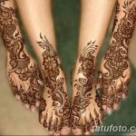 фото Мехенди на лодыжке от 13.07.2018 №188 - Mehendi on the ankle - tatufoto.com