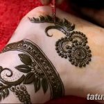 фото Мехенди на лодыжке от 13.07.2018 №193 - Mehendi on the ankle - tatufoto.com