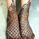 фото Мехенди на лодыжке от 13.07.2018 №210 - Mehendi on the ankle - tatufoto.com