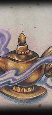 genie lamp aladdin tattoo Beautiful Genie Lamp Tattoo