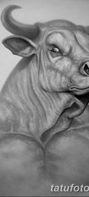 фото тату Минотавр от 19.07.2018 №004 – Minotaur tattoo – tatufoto.com