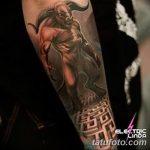 фото тату Минотавр от 19.07.2018 №008 - Minotaur tattoo - tatufoto.com