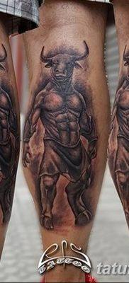 фото тату Минотавр от 19.07.2018 №012 – Minotaur tattoo – tatufoto.com