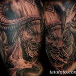 фото тату Минотавр от 19.07.2018 №015 - Minotaur tattoo - tatufoto.com