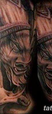 фото тату Минотавр от 19.07.2018 №015 – Minotaur tattoo – tatufoto.com