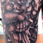 фото тату Минотавр от 19.07.2018 №016 - Minotaur tattoo - tatufoto.com