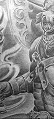 фото тату Минотавр от 19.07.2018 №030 – Minotaur tattoo – tatufoto.com