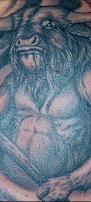 фото тату Минотавр от 19.07.2018 №051 – Minotaur tattoo – tatufoto.com