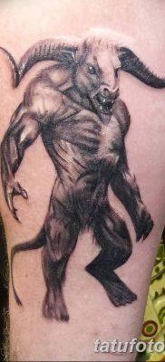 фото тату Минотавр от 19.07.2018 №052 – Minotaur tattoo – tatufoto.com
