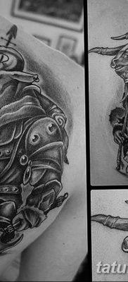 фото тату Минотавр от 19.07.2018 №054 – Minotaur tattoo – tatufoto.com