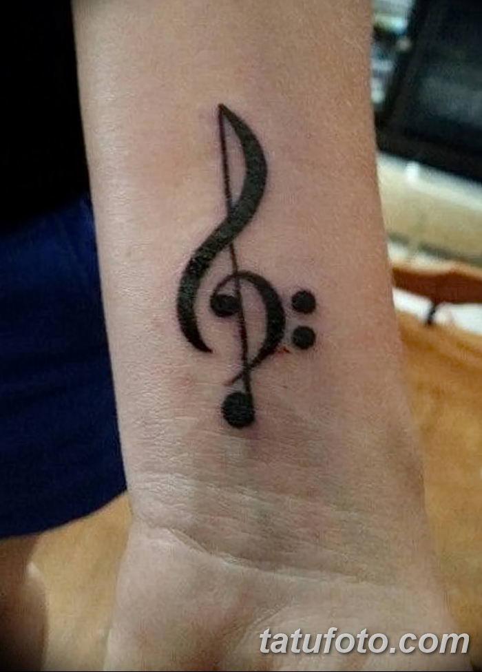 фото тату басовый ключ от 02.07.2018 №008 - Bass Key Tattoo - tatufoto.com