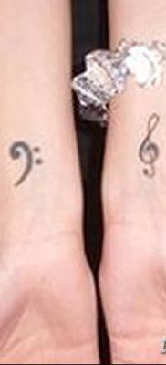 фото тату басовый ключ от 02.07.2018 №011 – Bass Key Tattoo – tatufoto.com