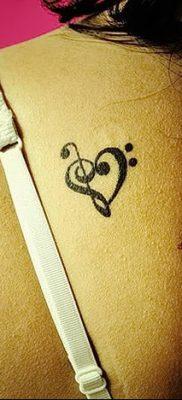 фото тату басовый ключ от 02.07.2018 №014 – Bass Key Tattoo – tatufoto.com