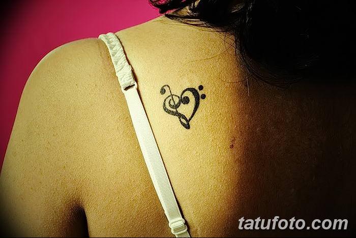 фото тату басовый ключ от 02.07.2018 №014 - Bass Key Tattoo - tatufoto.com