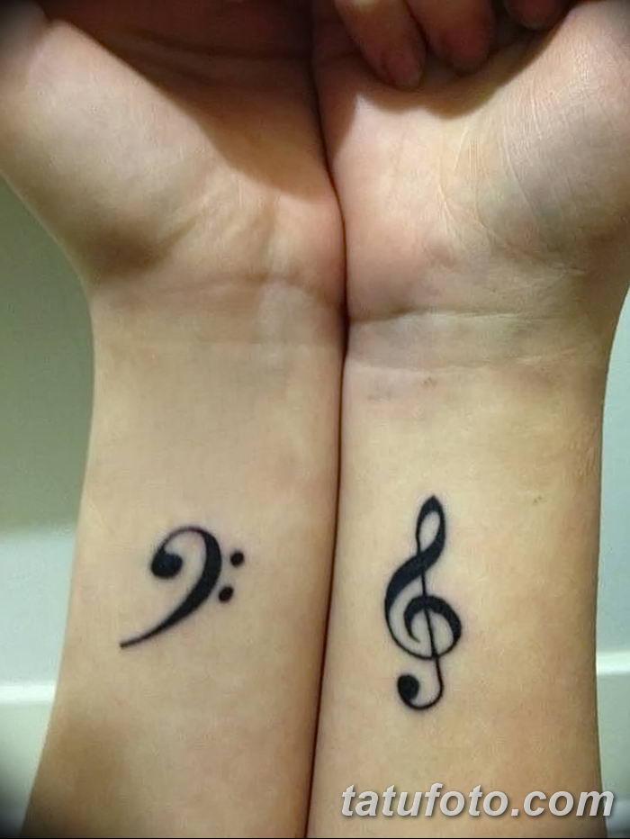 фото тату басовый ключ от 02.07.2018 №015 - Bass Key Tattoo - tatufoto.com