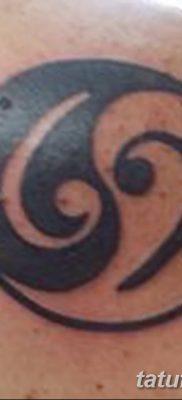 фото тату басовый ключ от 02.07.2018 №041 – Bass Key Tattoo – tatufoto.com