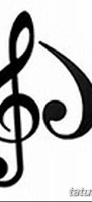 фото тату басовый ключ от 02.07.2018 №053 – Bass Key Tattoo – tatufoto.com