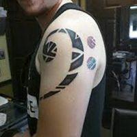Значение тату басовый ключ