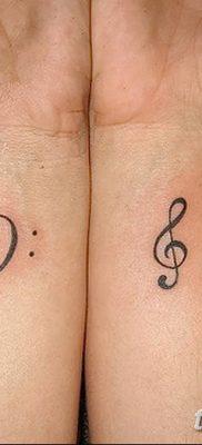 фото тату басовый ключ от 02.07.2018 №146 – Bass Key Tattoo – tatufoto.com