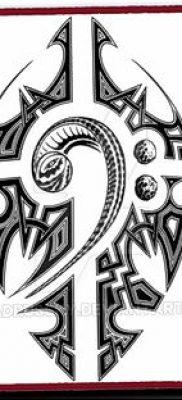 фото тату басовый ключ от 02.07.2018 №149 – Bass Key Tattoo – tatufoto.com