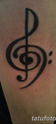 tattoo designs bass clef Elegant Treble Clef Bass Clef Tattoo De