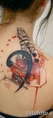 фото тату басовый ключ от 02.07.2018 №153 – Bass Key Tattoo – tatufoto.com
