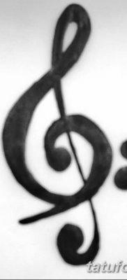 фото тату басовый ключ от 02.07.2018 №155 – Bass Key Tattoo – tatufoto.com