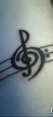 фото тату басовый ключ от 02.07.2018 №156 – Bass Key Tattoo – tatufoto.com