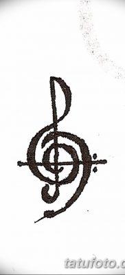 фото тату басовый ключ от 02.07.2018 №158 – Bass Key Tattoo – tatufoto.com