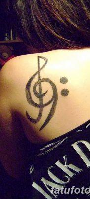 фото тату басовый ключ от 02.07.2018 №159 – Bass Key Tattoo – tatufoto.com