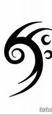фото тату басовый ключ от 02.07.2018 №176 – Bass Key Tattoo – tatufoto.com