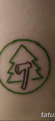 фото тату сосна от 31.07.2018 №013 – tattoo pine – tatufoto.com