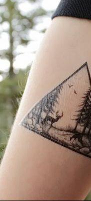 фото тату сосна от 31.07.2018 №086 – tattoo pine – tatufoto.com