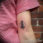 фото тату сосна от 31.07.2018 №118 - tattoo pine - tatufoto.com